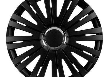 Puklice Versaco RC čierne 15 sada 4 ks