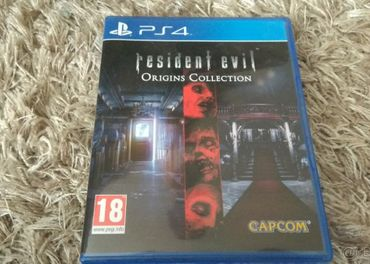 Ps4 hra resident evil origins collection