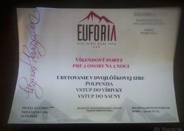 Víkendový pobyt pre 2 osoby na 2 noci v Tatrách