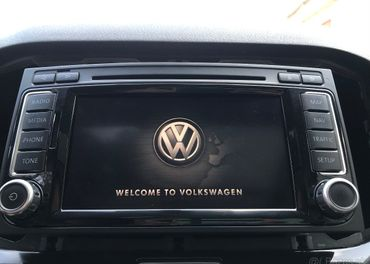 original VW RNS510 LED autoradio navigacia multivan touareg