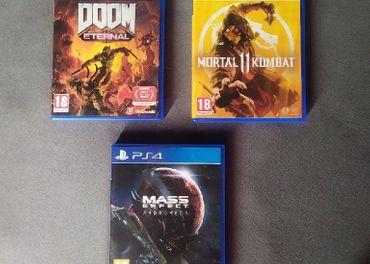 Doom, MK11, Mass Effect