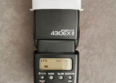 blesk Canon Speedlite 430 EX II