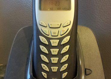 Predám nevyužitý bezdrátový telefon Siemens Gigaset AS140