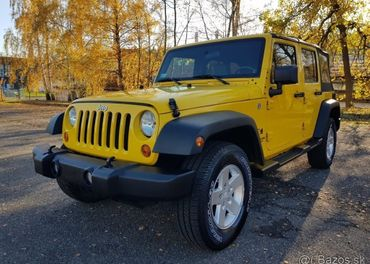 Jeep Wrangler Unlimited Sahara 3.8 V6 82.000km