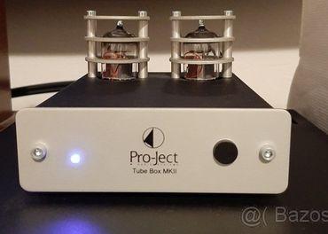Pro-Ject Elektrónkový Gramo predzosilňovač Tube Box MKII