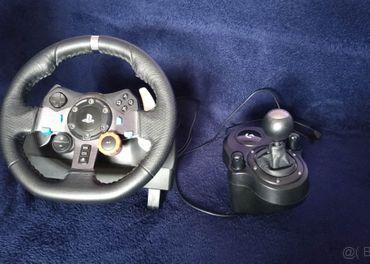 [PREDANÉ] Volant Logitech G29 +pedále +shifter (PC,PS3,PS4)