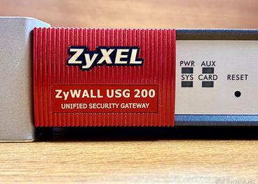 ZyXEL ZyWALL USG 200 - Gbit smerovac a bezpecnostna brana
