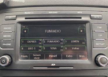 ✅KÓD ZISTENÝ Radio Škoda