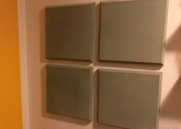 Tlmiace panely na stenu