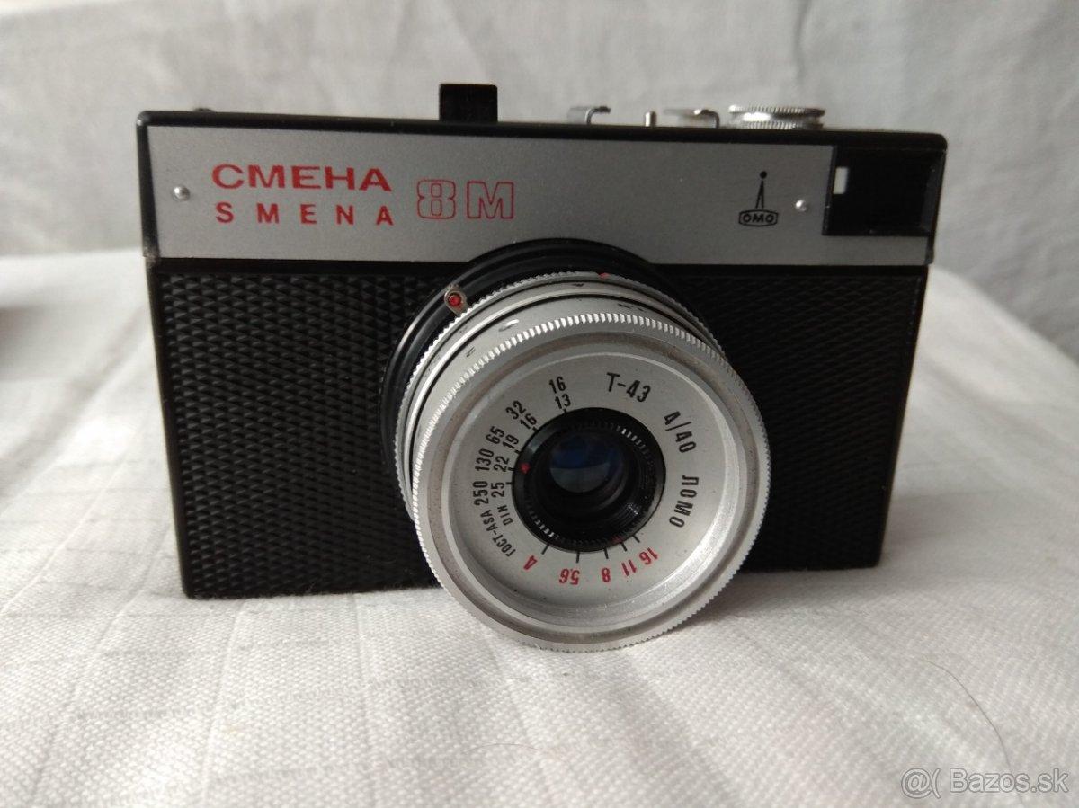 Predám starožitné fotoaparáty.