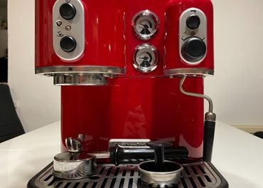KitchenAid- Artisan  (Retro pákový kávovar)