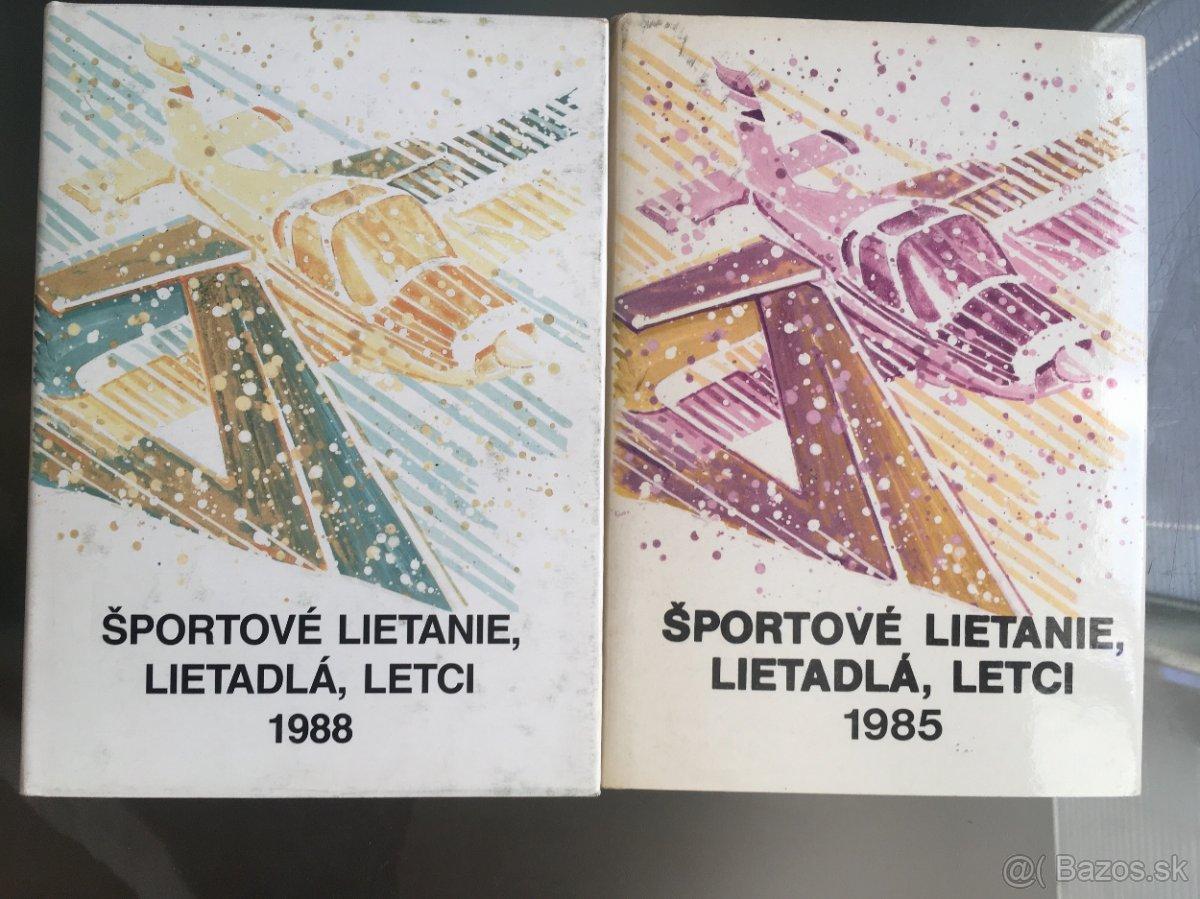 Letectvo-sportove lietanie,lietadla,letci-1985-88