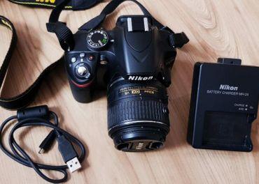 Nikon D 3100 objektív 18-55 AF-S DX VR
