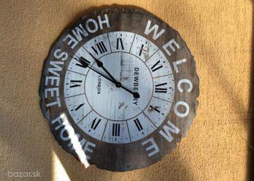 Nástenné vintage hodiny