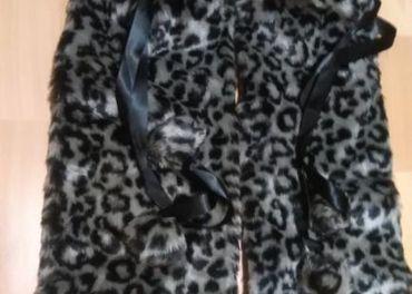Nové dámske kožušinové štucne... -