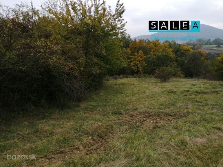 Na predaj pozemok s krásnym výhľadom s celkovou rozlohou 1.743m2 v obci Košariská - časť Trvajova do