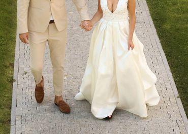 Svadobné šaty veľ. 34-36