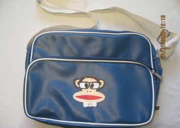 Paul Frank, koženková modra taška