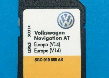 Mapy SDKarta VW Discover Media1,2 Skoda MIB1,2 Amundsen 2020