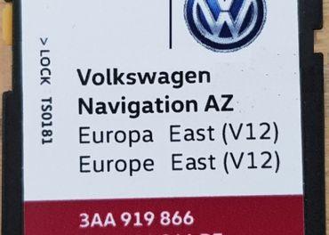 Mapy SD Karta RNS315 Amundsen+ EAST V12 a WEST V12 2020