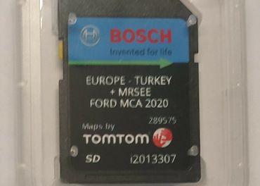 Mapy SD Karta Ford MCA  Europe 2020  V10
