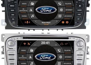 FORD ANDROID-10 s NXP FM-DVD-GPS-2xUSB-BT