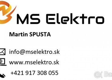 Elektrikári Bratislava a okolie