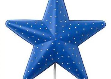 Ikea osvetlenie hviezda