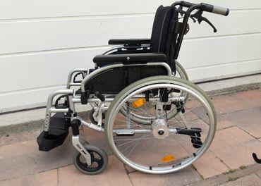 Invalidný vozík B+B XXL š.sedu 53cm do 125kg+BRZDY