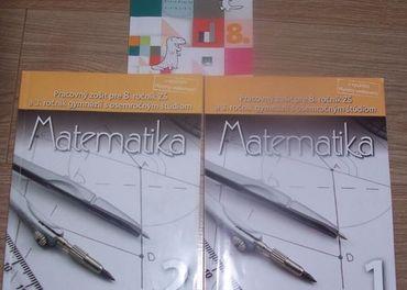 Knihy na matematiku pre 8. ročník