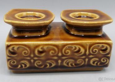Ditmar Urbach dvojitý svietnik, keramika