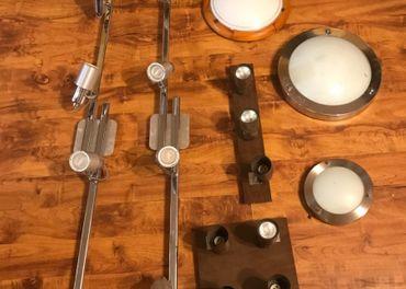 Stropné svietidla - sada 7 kusov