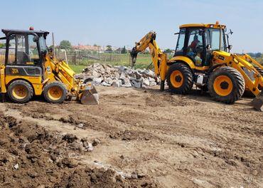 Zemné práce - Terénne úpravy