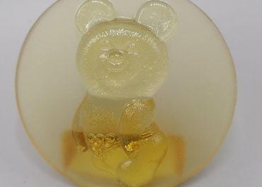 Ťažítko, medveď Míša, maskot olympijských hier
