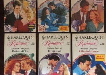 Knihy Harleqiun Romance a Desire