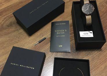 Originálny set Daniel Wellington (hodinky + náramok)