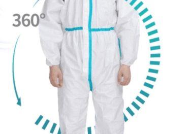 Jednorázový ochranný oblek - medicínsky