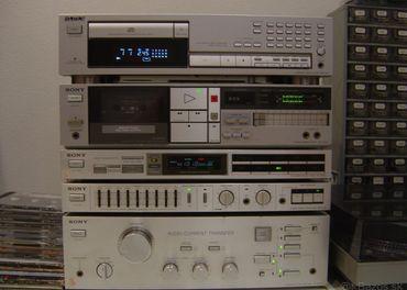 Sony komponenty