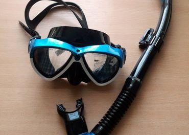 Potápačský set s držiakom na GoPro