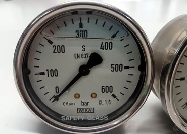 600Bar 400Bar Manometer budik