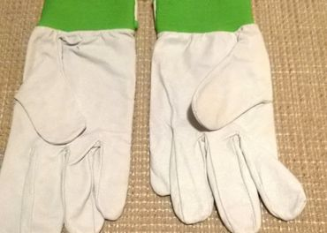 Pracovne rukavice-kozene