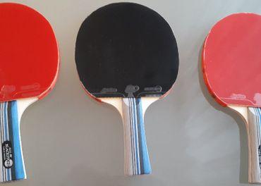 Prodám pálky na stolní tenis