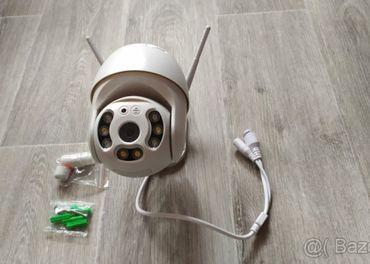 Wi-Fi Venkovní OTOČNÁ IP kamera H.265 FullHD 1080P, ONVIF