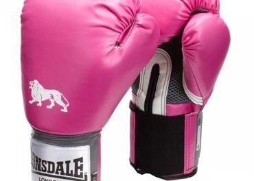 Lonsdale Boxerské Rukavice 10oz (Ružová)