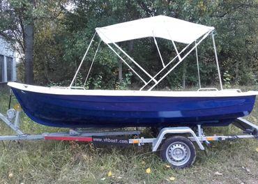 Laminátový čln veslica Eddy 420