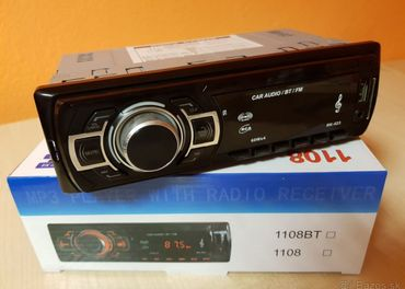 Autorádio s MP3,USB,Bluetooth