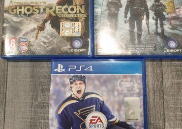 Predám 3 hry na PS4 za 19€