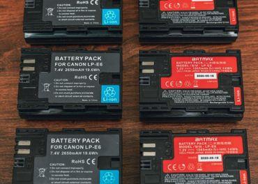Predám/vymením baterky Canon LP-E6/E6N/E6NH