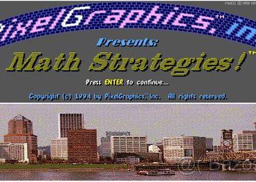 Zháňam starú dosovskú hru Math Strategies