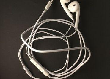 Apple Iphone Slúchadlá Earpods 3,5mm jack